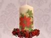 Decoupage krok po kroku - ozdabianie świeczki
