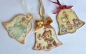 Decoupage krok po kroku - świąteczne dzwoneczki z papierem ryżowym