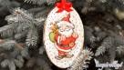 Decoupage krok po kroku - mikołajek - ozdoba świąteczna