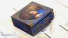 Decoupage krok po kroku - pudełko z portretem