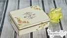 Decoupage krok po kroku -  pudełko na herbatę