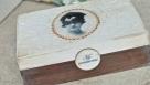 Decoupage krok po kroku - szkatułka z portretem damy