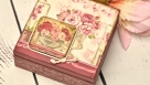 Decoupage krok po kroku - szkatułka z różami