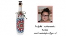 Decoupage - Renaty butelka folk