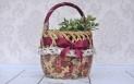 Decoupage krok po kroku - koszyk piknikowy na owoce i warzywa