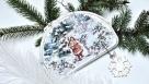 Decoupage świąteczny obrazek dla początkujących