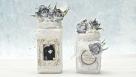 Słoiki ślubne  i kwiaty z foamiranu