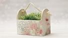 Decoupage - romantyczne pudełko